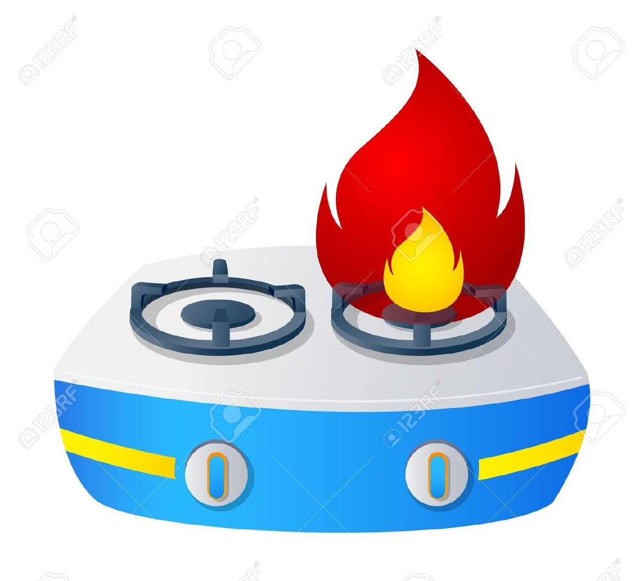 Cooking gas clipart.