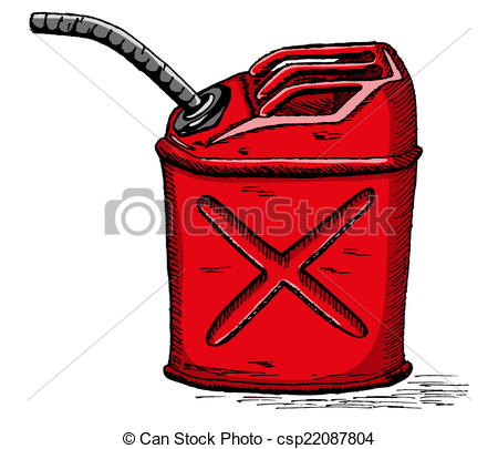 Vector gas can.