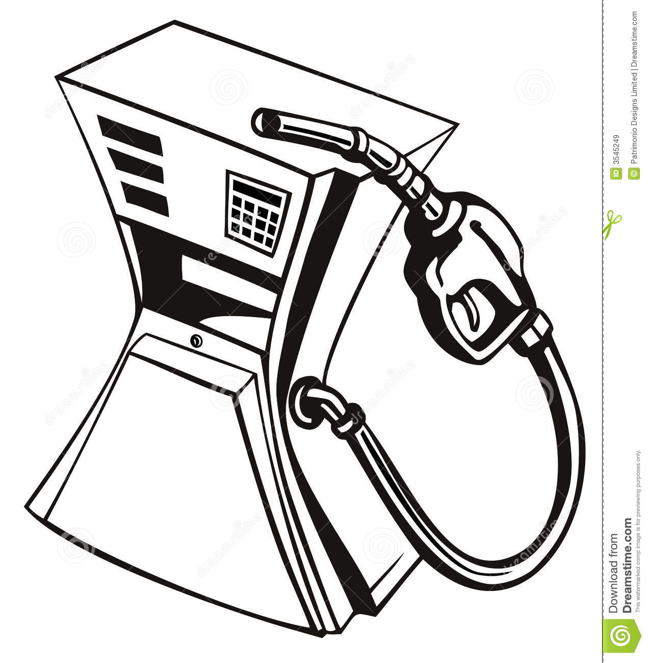 Gas clipart black and white 9 » Clipart Station.
