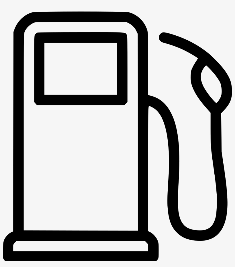 Library of gas pump vector royalty free download transparent.