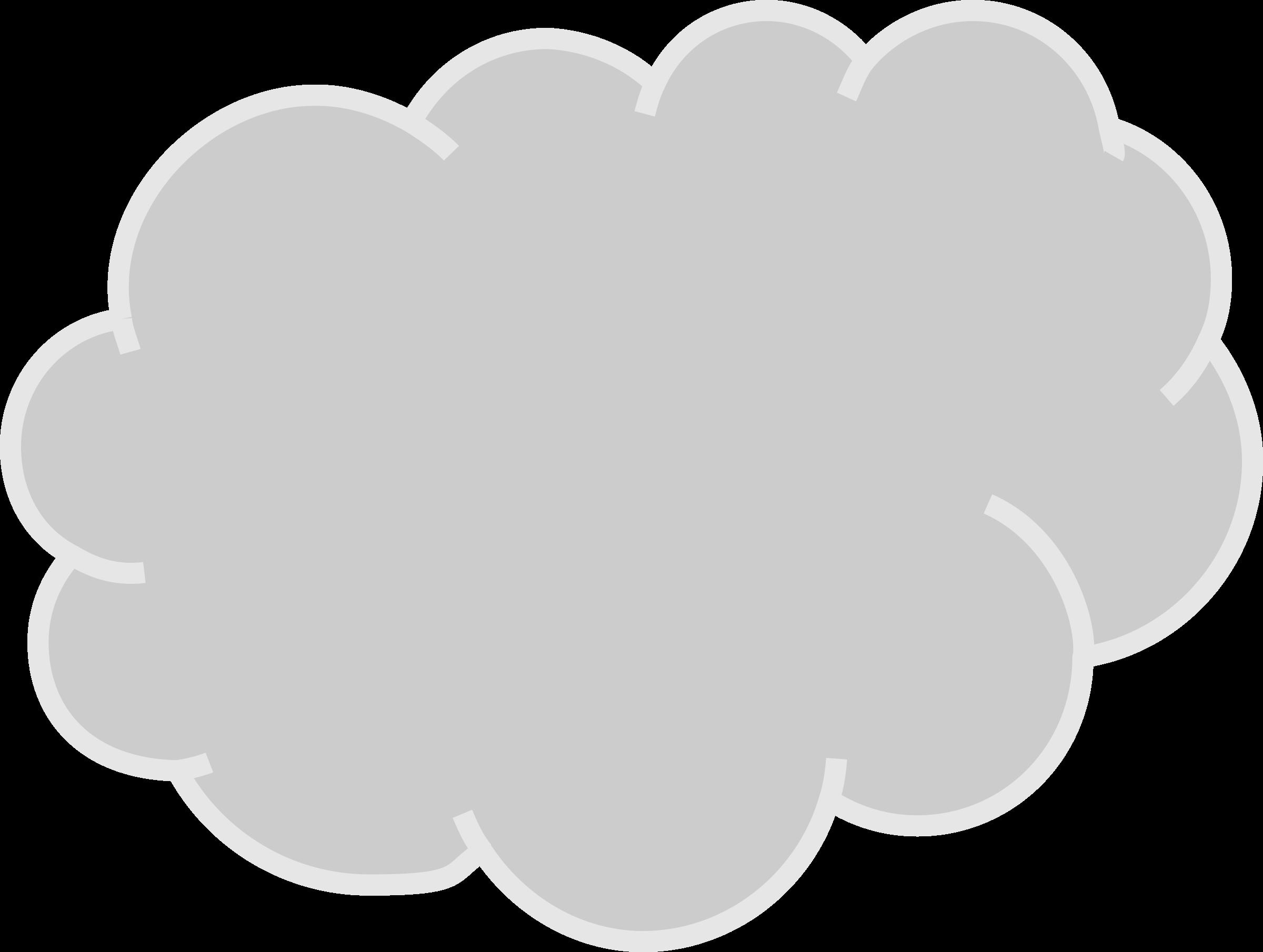 Gas cloud clipart.
