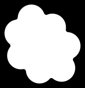 Thought Cloud 2 Clip Art at Clker.com.