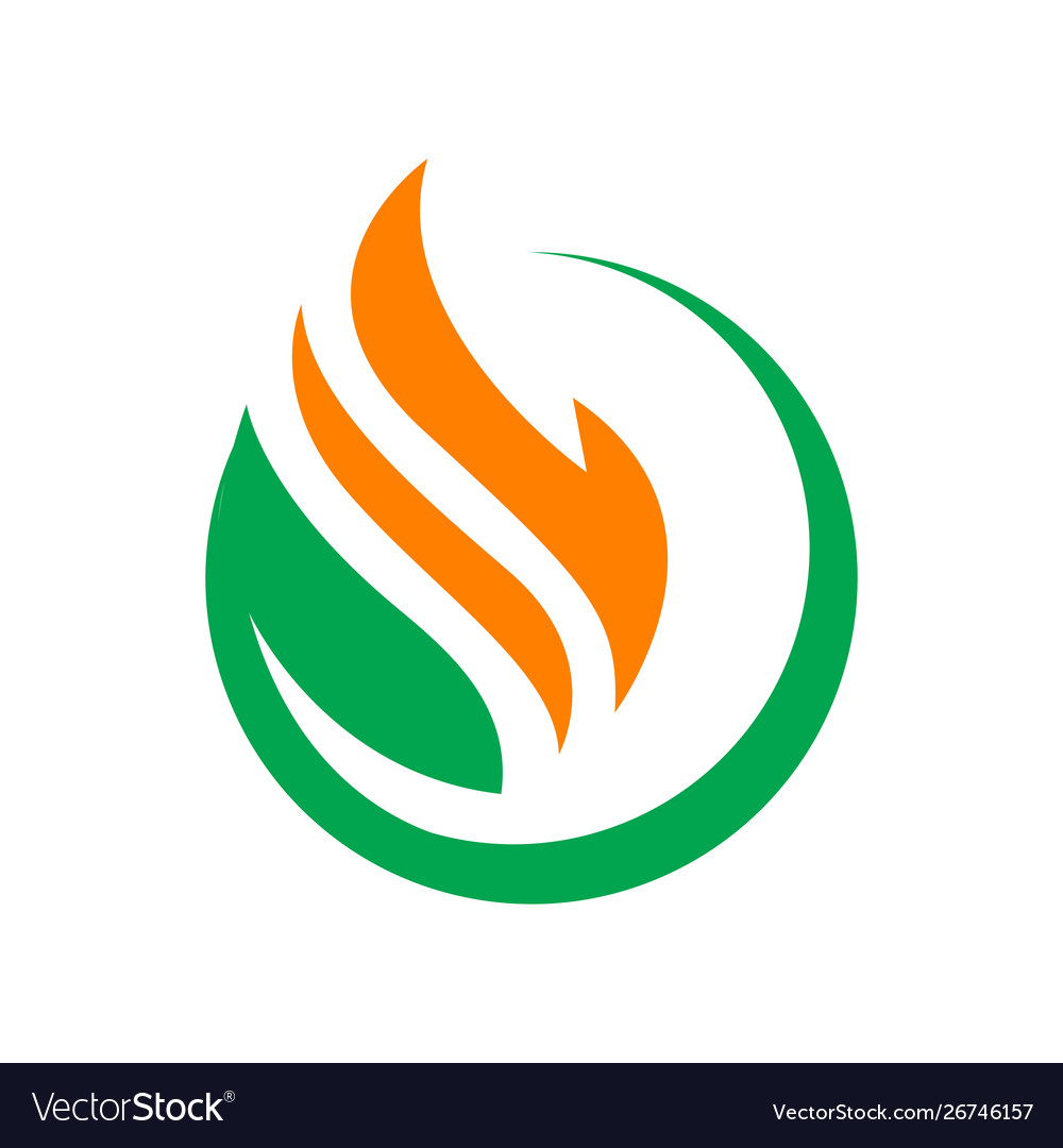 Modern styled drop oil and gas logo company.