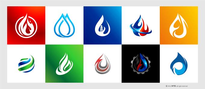 create a oil and gas logo design.