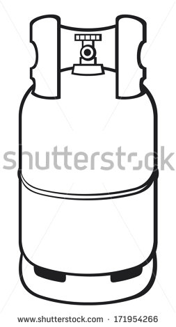 Cooking Gas Cylinder Stock Images, Royalty.