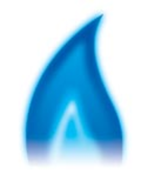 Showing post & media for Natural gas flame symbol.