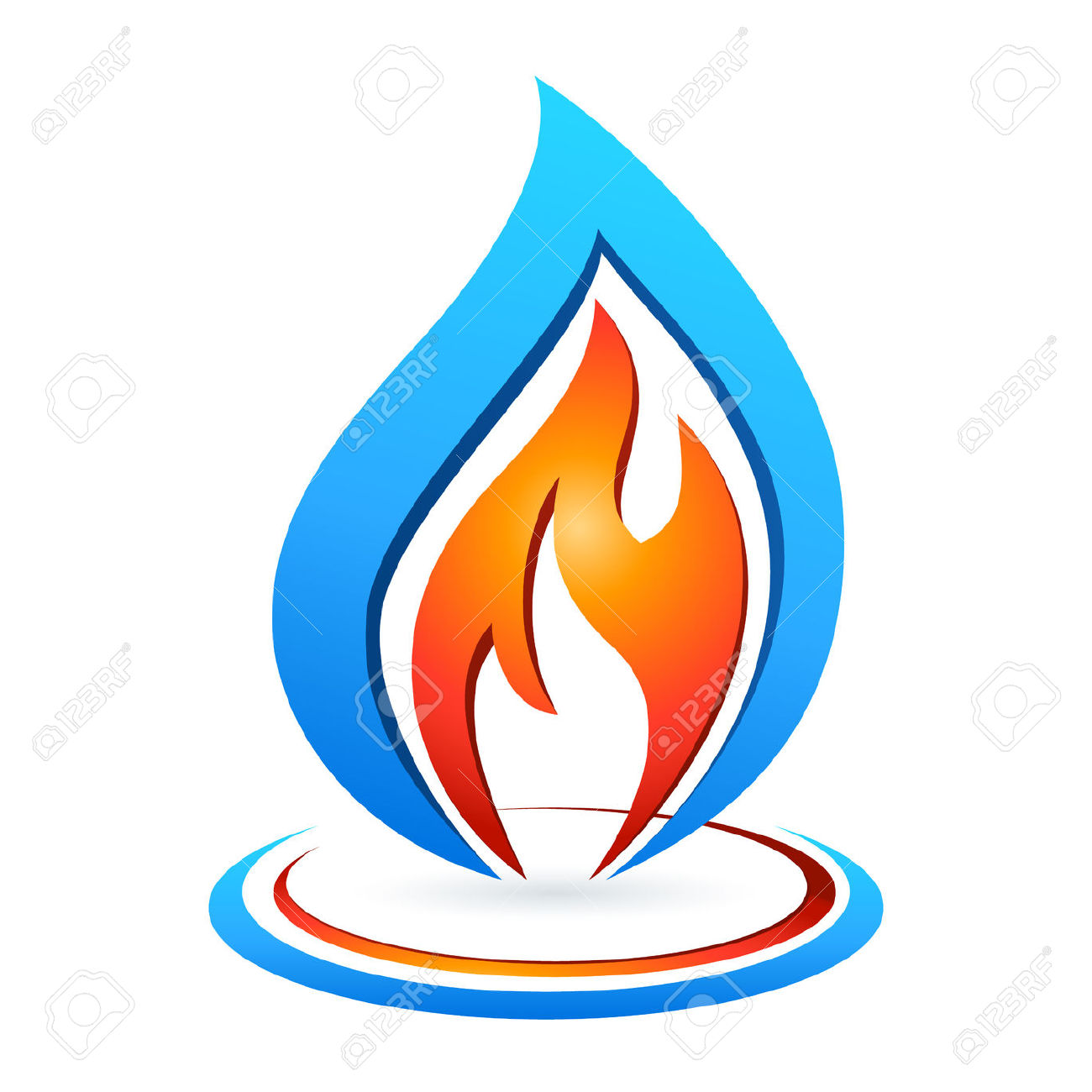 Gas flame clipart - Clipground