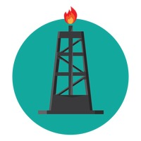 Icon Icons Oil And Gas Industry Industries Fire Fires Gas Gases.