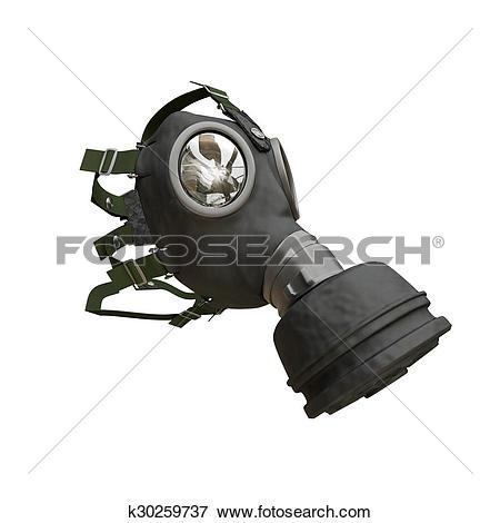 Stock Illustration of gas mask k30259737.