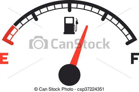 gas gauge.