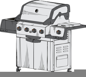 Free Gas Grill Clipart.