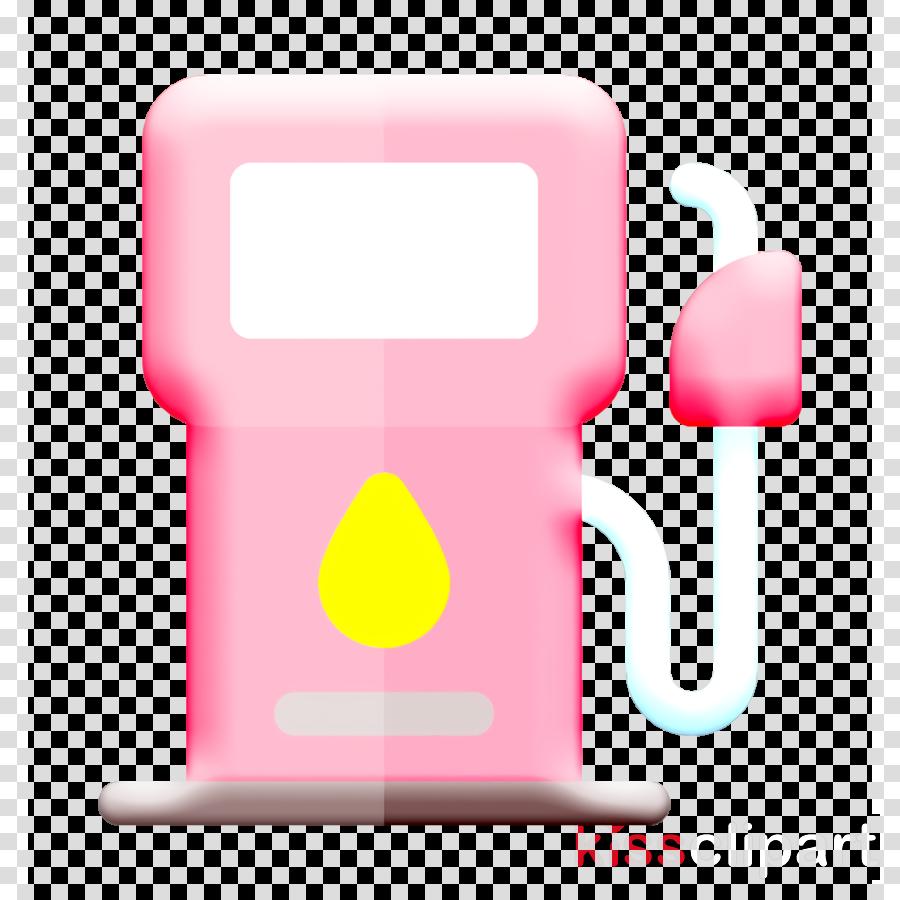 Gas icon Formula 1 icon Fuel icon clipart.