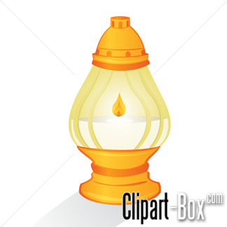 CLIPART GAS LAMP.
