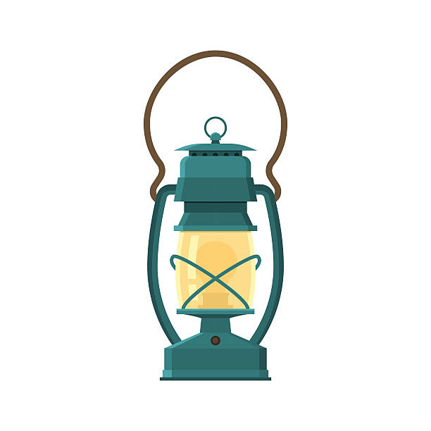 Gas Lamp Clip Art, Vector Images & Illustrations.