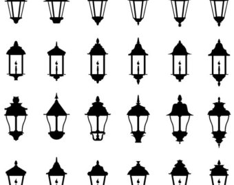 Antique street lamp.