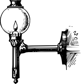 Antique Outdoor Lantern Clip Art at Clker.com.