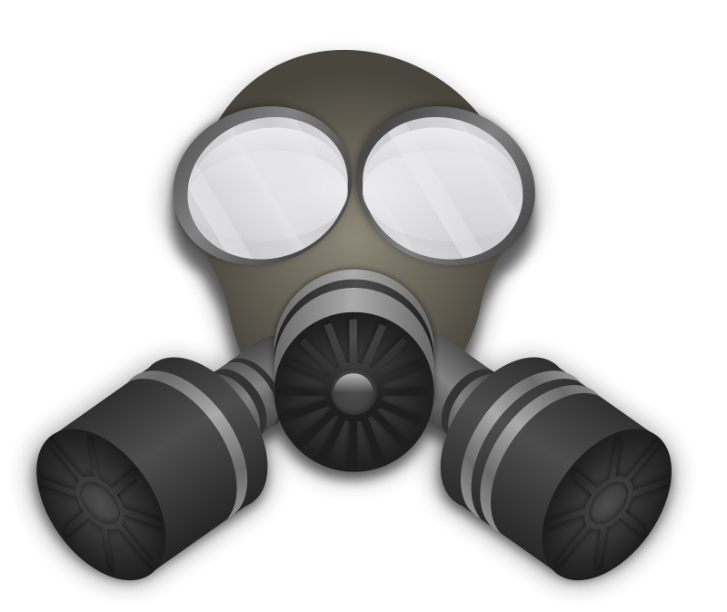 Free Clipart: Gas Mask.