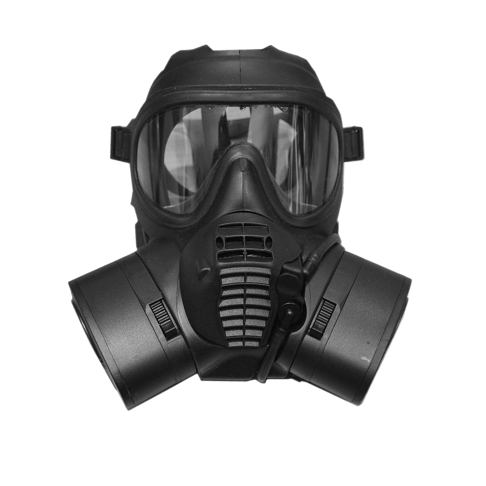 British Army GSR Gas Mask transparent PNG.