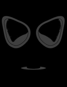 B W Gas Mask Clipart.