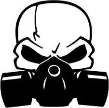 Clipart gas mask.