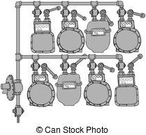 Gas meter Clip Art and Stock Illustrations. 1,203 Gas meter EPS.