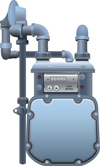 Natural Gas Meter Clip Art, Vector Images & Illustrations.