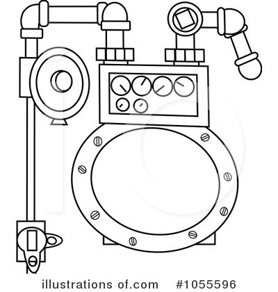 Gas Meter Clipart #1055596.