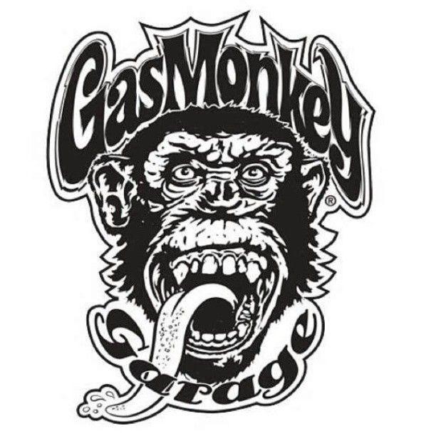 Gas Monkey Garage logo.