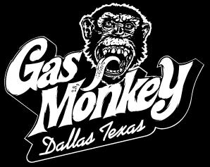 Gas Monkey Bar and Grill logo.