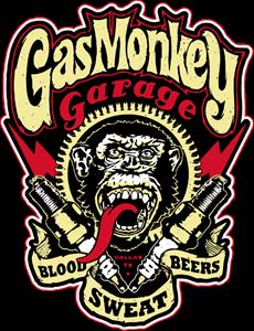 Gas Monkey Logo Vector (.AI) Free Download.
