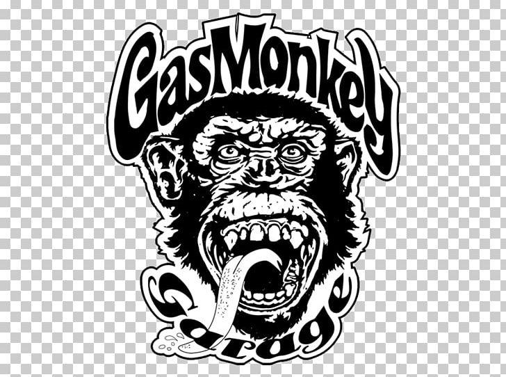 Gas Monkey Bar N' Grill Decal Car Gas Monkey Garage Sticker PNG.