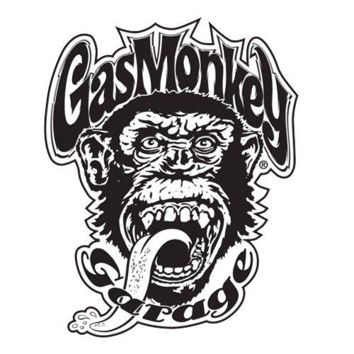 Black Gas Monkey Sticker by LIVE.