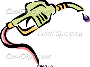 gas nozzle Vector Clip art.
