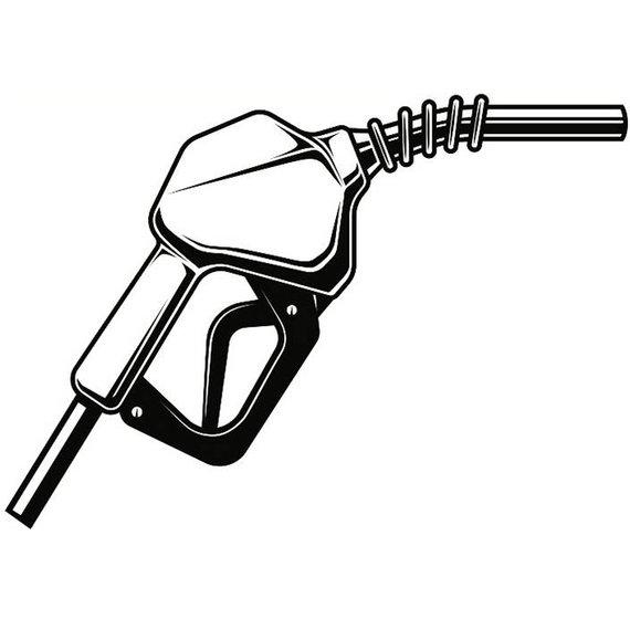 Gas Pump Drawing.