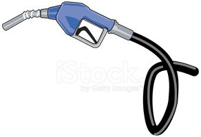 Gas Pump/hose/nozzle stock vectors.