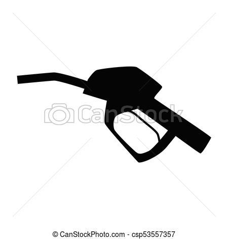 fuel pump nozzle icon.