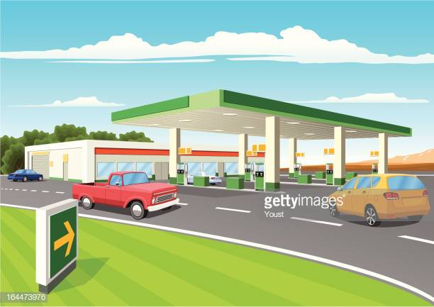 60 Top Gas Station Stock Illustrations, Clip art, Cartoons, & Icons.