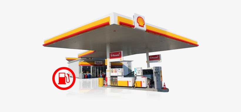 Shell Service Stations.
