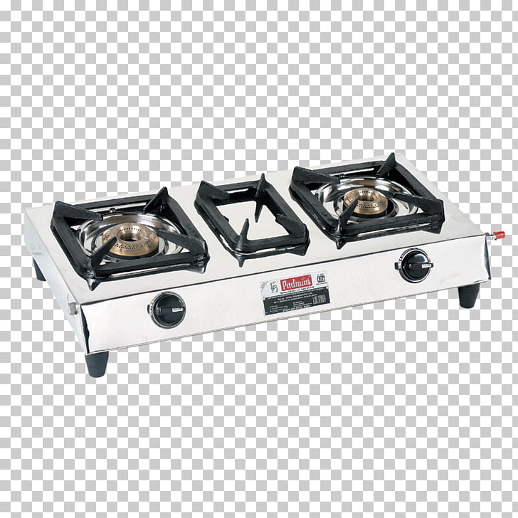 Gas stove Cooking Ranges Gas burner Brenner, stove, silver 2.