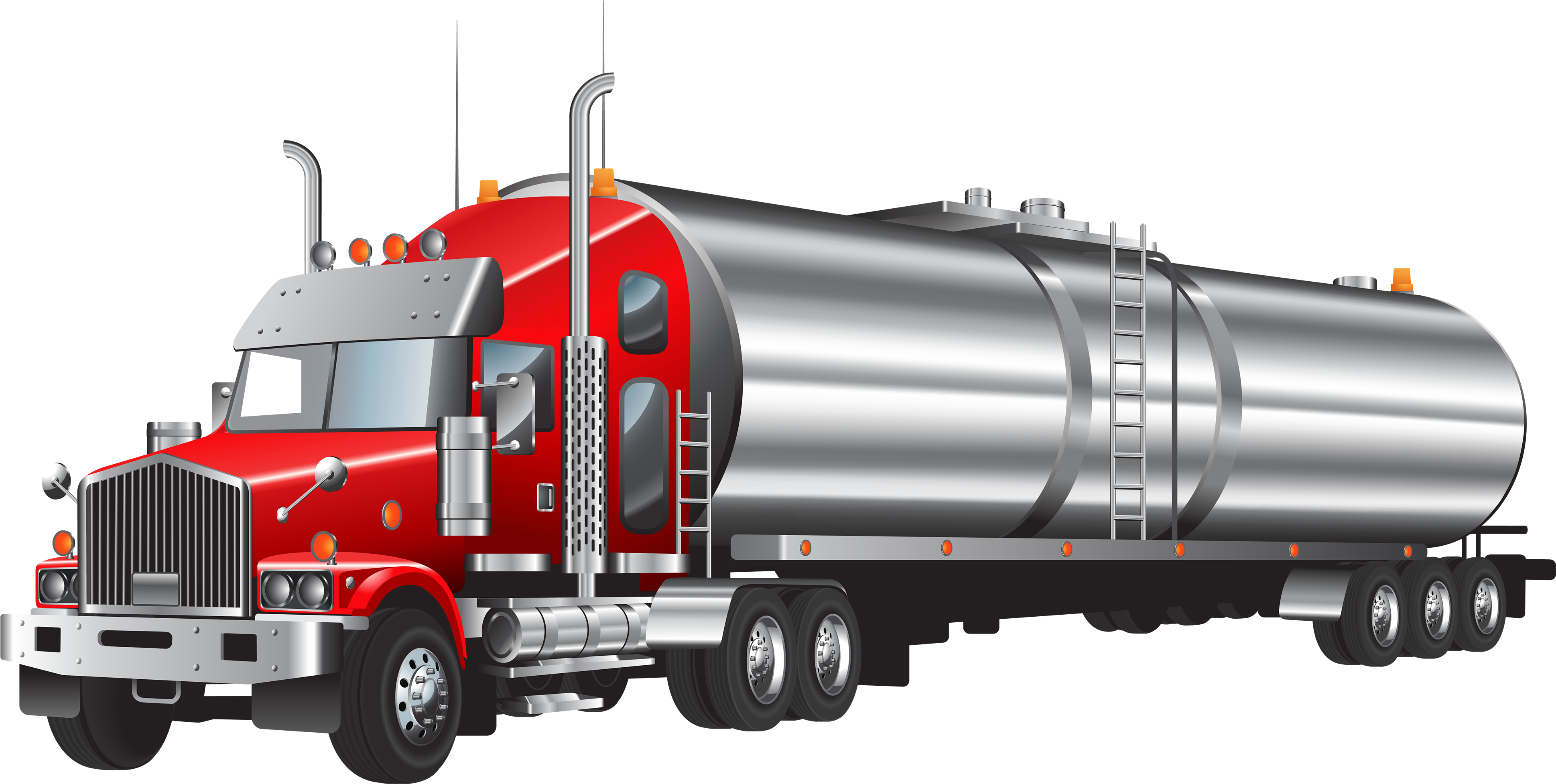 Fire Truck Clipart Truk Oil Tanker Truck Png.