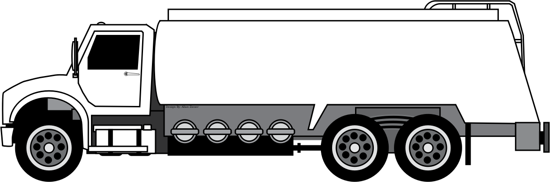 Gas Truck Clipart.