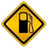 Bp gasoline station clip art.