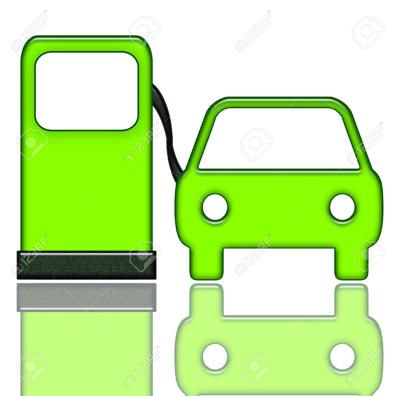 Car fuel pump clipart.