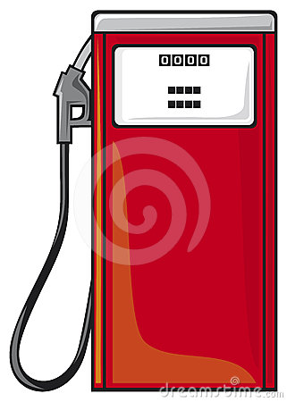 Car Pumps Red Stock Illustrations.