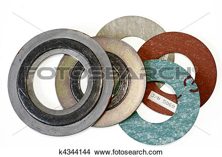 Stock Photo of Piping Gasket k4344144.