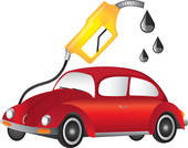 Gasoline Car Clipart.