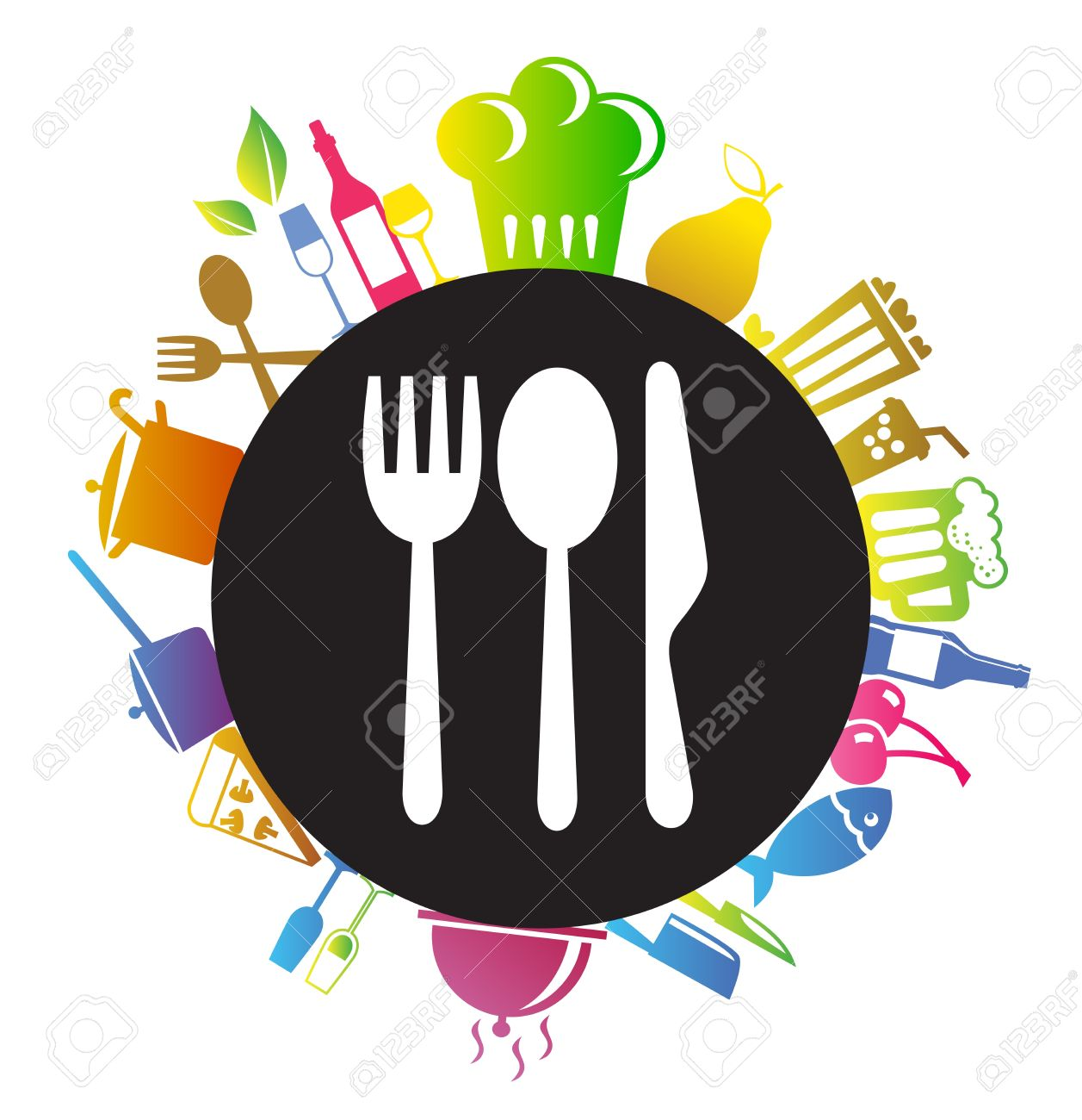24,275 Gastronomy Stock Vector Illustration And Royalty Free.