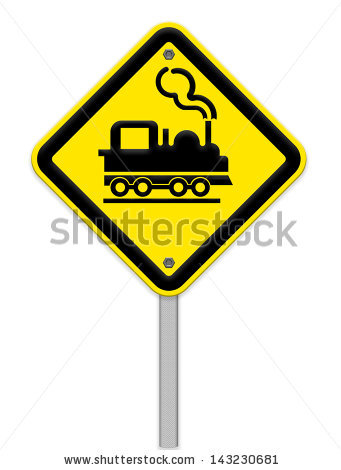 Level Crossing With Barrier Or Gate Ahead Stock Photos, Royalty.