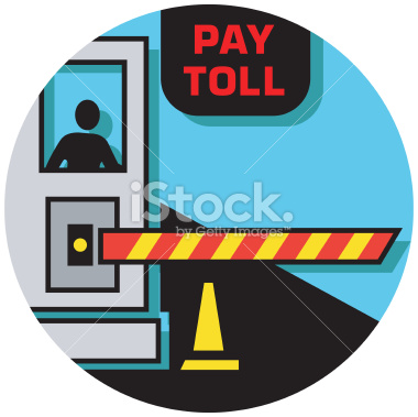 Free icon tollbooth ahead clipart.