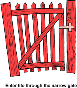 Clipart Of Gate.